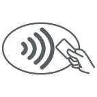 logo contactloos betalen